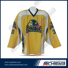 Wholesale Blank Hockey Jersey for League
