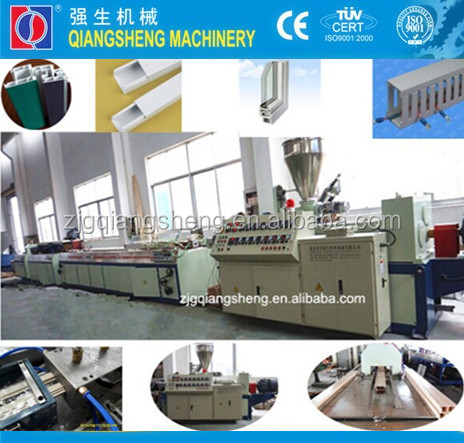 2014 new and hot selling extrusion line for pvc window