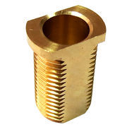 brass hex head threaded hollow bolt