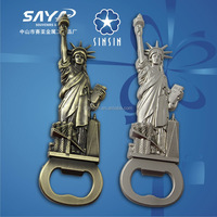 The Statue of Liberty bottle opener with difference color