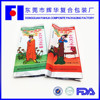 Chinese Style crunchy rice candy or swelled candy rice side gusset clear cheap plastic bags