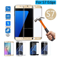 Mirror tempered glass screen protector for samsung Galaxy s7 edge