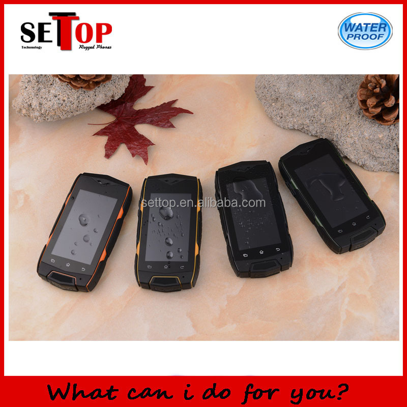Small Size 2.4 Inch Capacitive Touch Screen Dual SIM Card WIFI GPS Android OS Discovery V10 Rugged Cell Phone
