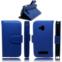 Singstar Stand Flip Leather Case Cover for Nokia Lumia 610