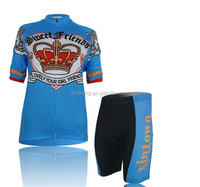 Custom Cycling Bike Short Sleeve Clothing Set Bicycle Men Wear Suit Jersey Bib Shorts