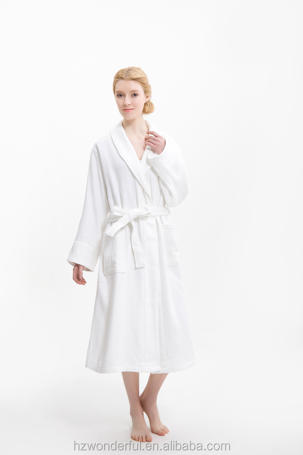 new products cotton terry bathrobe