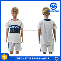 2016 Newest Famous Club Cheap Kids Soccer Jersey In Stocks