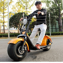 Adult electric motorcycle with 12 inch big tire 60V20AH cheap scooter electric motorcycle for man