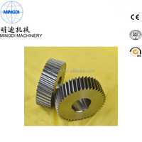 OEM copper powder coating straight tooth spur gear,starter drive gear,wheel gear
