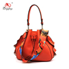 FJ34-006 Tower shaped cone shoulder bag leather edge women handbags
