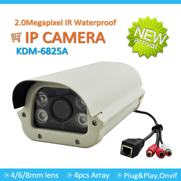 Bargin price 1080p p2p onvif 2.0megapixel 40m ir cmos waterproof ip camera