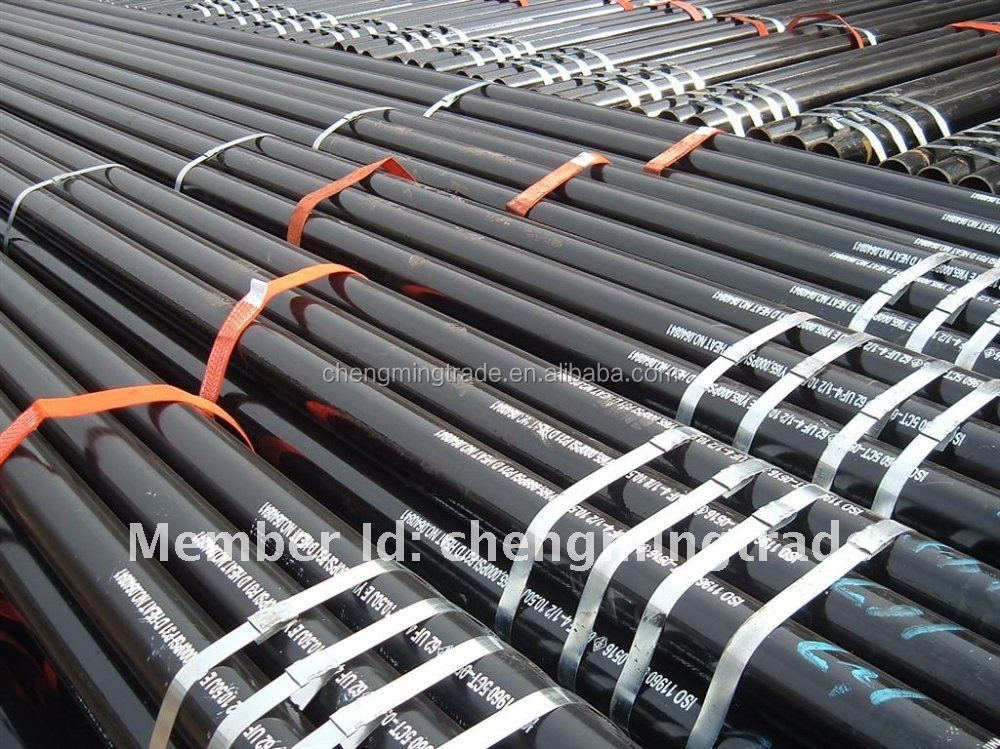 ASTM A106 20 inch carbon seamless carbon steel line pipe price list st52
