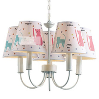 American style kids cat Led chandeliers