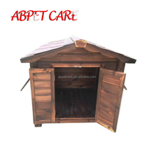 Morden large luxury indoor and outdoor flat pet house for dog