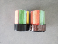 6 colors in 80 gram packing shaker glitter stationery supplies