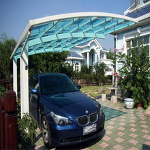 carport patio cover and walkway cover roof makrolon ge lexan clear red transparent 18mm solid polycarbonate sheet