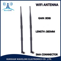 Factory Price Long Range External WIFI Antenna Wireless Router Rotating Antenna