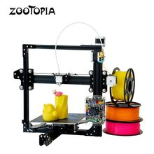 Prusa I3 DIY Kit Aluminum Metal Frame Structure 3D Printer with large format printer size tevo tarantua portable 3d printer