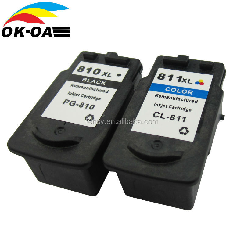 new compatible ink cartridge for canon pg810 refilled inkjet cartridge