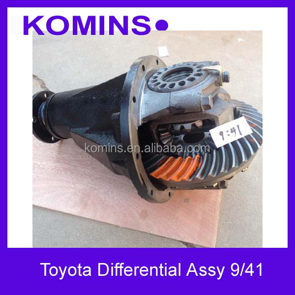 9x41 9x37 10X43 10x41 41110-3D260/41110-35222/41110-26051 Toyota Rear Differential