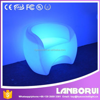 outdoor use led chair and table for nightclub, party, events
