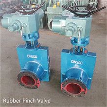 China Professional Valve Manufacturer Oil and Gas Pinch Valve Electric Actuated