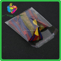 Self adhesive comic bag Opp transparent plastic self adhesive bag