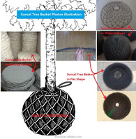 Suncel Root Ball rootball wire mesh basket for Tree Spade mover removal spade machine for tree transplanting