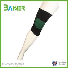 Customized Sports Leg Sleeve Cotton Elastic knitted knee supporter