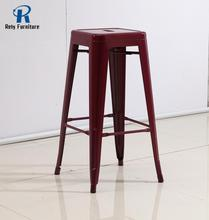 Iron metal high stool for restaurant bar chair