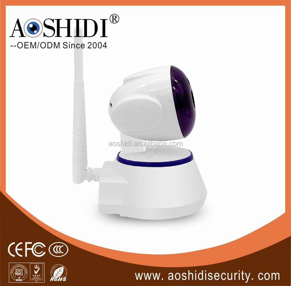 NetWork Technology and CMOS Sensor mini 720P wireless ip camera portable