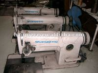 three head hair weft used industrial sewing machinery