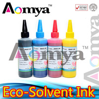 Vivid color high quality Eco-solvent ink for konica