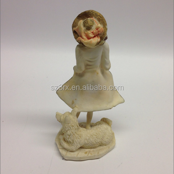 OEM Fairy Tale Goddess Resin Figures/make your design lady character home decor resin figure/customized promotion resin figures