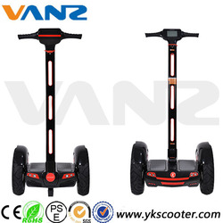 Wholesale two wheel standing electric chariot kids mini electric motorcycle