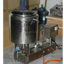 semi automatic farm chemical filling heating mixing machine