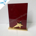 Wholesale wooden Star quality wooden plaque