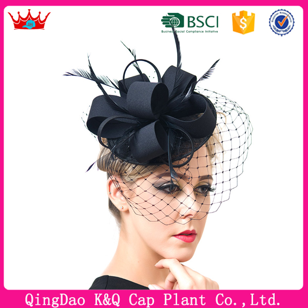 English Ladies Fashionable Net Hat Church hats