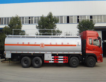 China top brand Dongfeng 25m3 truck fuel tank 25000L fuel tank truck with flow meter