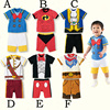Alibaba Express China Wholesale Summer Short Sleeve Children Boy's Boutique Clothing Set
