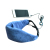 2016 Top sell Sleep mask with headphones 3.5mm audio cable plug