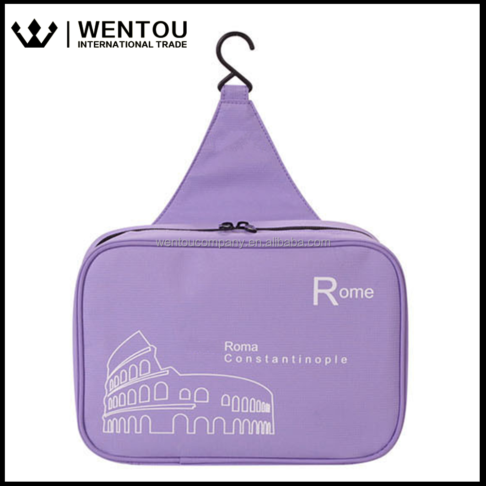 Outdoor Travel Essential Waterproof Hanging Cosmetic Toiletry Bag