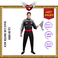 Hot Sexy Cheap Car Driver Cosplay Dress Halloween Race Car Driver Man Costumes