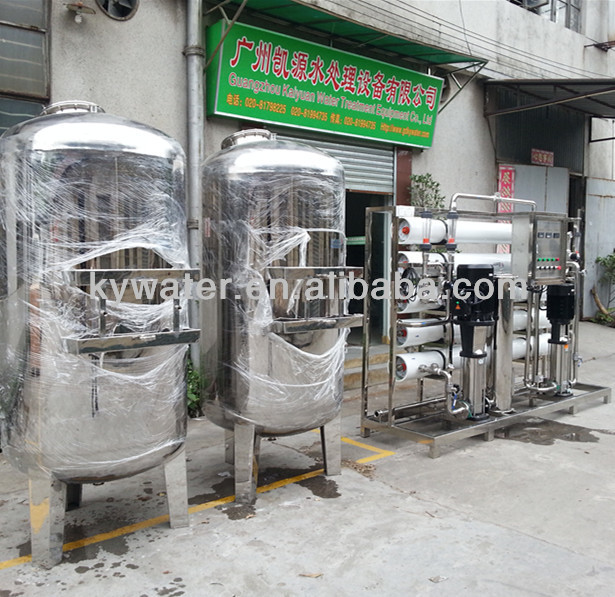Factory big capacity low operation cost FRP vessel elken ro water filter reverse osmosis (KYRO-10,000)