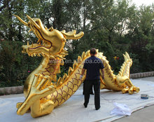 Hot-selling cheap custom gold inflatable dragon