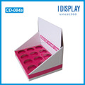 Custom printed paper material corrugated pdq Cardboard Display Rack