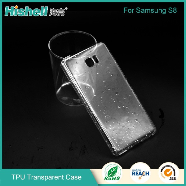 Mobile phone tpu case cover for Samsung galaxy S8 case