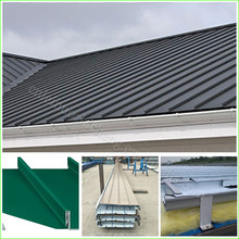 large size aluminum standing seam Installing easily and quickly