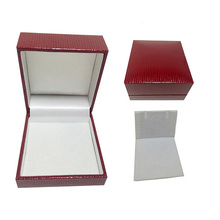 Luxury Jewelry Plastic Cufflinks Gift Box Made In Dongguan