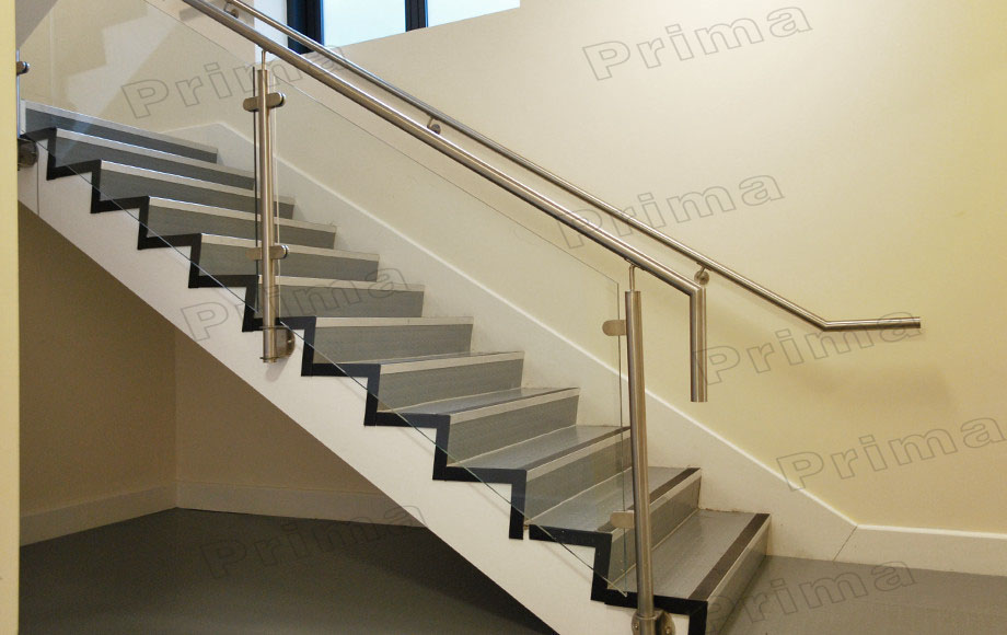 Interior Luxury Stair Stainless Steel Railing Post Price Glass Railings Buy Price Glass